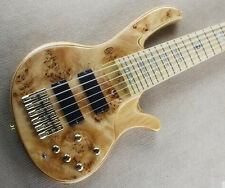Custom bass guitar 6 strings electric bass guitar active pickups