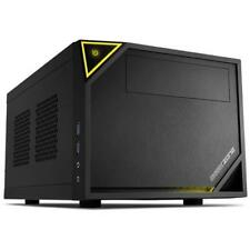 SHARKOON Case Shark Zone C10 Mini-ITX Colore Nero / Giallo