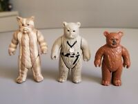 Vintage Star Wars Ewok Lot of 3 Chief Chirpa, Logray and Paploo ROTJ Kenner