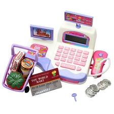 Supermarket Toy Cash Register Toy Display and Scanning Function Kids Education