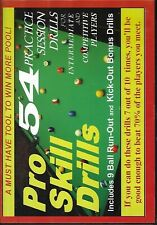 Pro Skill Drills - 54 Practice Session Drills [Billiards] (DVD)