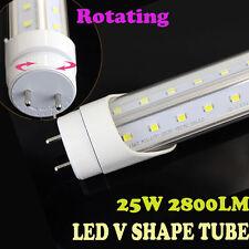 New arrival 10pcs 4FT 25w super bright T8 LED V-Shape tube cooler/freezer light