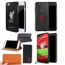 Liverpool Football Flip Hard Clear Gel Case Back for iPhone 4 5 SE 6 7 8 X XS