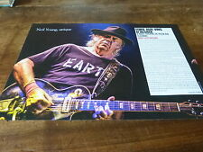 NEIL YOUNG - Mini poster couleurs 5 !!!!!!!!!!!!!!!