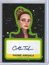 "Padme Amidala ""Catherine Taber"" 2017 Topps Star Wars Autograph"