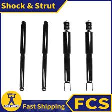 4X FRONT + REAR FCS Shock & Strut Fits 2004 GMC SIERRA 1500 Crew Cab PickupRWD
