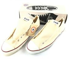 Vintage 80s 90s Converse All Star Chuck Taylor White Low Ds Nib Usa Mens Size 17