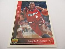 Carte NBA UPPER DECK 1993-94 FR #108 Danny Manning Los Angeles Clippers