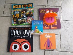 Toddler/Early years book bundle, 5x books, excellent condition