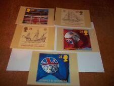 Europa '92 7 April 1992 PHQ 143 set Royal Mail Stamp Card Series MINT FREE POST