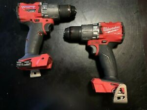 2 Milwaukee FUEL M18 2804-20 1/2-Inch Lithium-Ion Brushless Hammer Drills