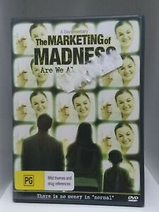 The Marketing of Madness (DVD, 2009) Region 4, Psychotropic Drugging