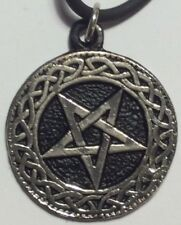 PENTAGRAM PENDANT NECKLACE metal punk rock n roll heavy hard thrash satan 666