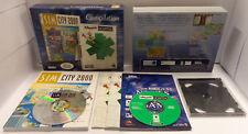 Game Computer Big Box PC CD-ROM ITA - SIM CITY 2000 THEME HOSPITAL Compilation -