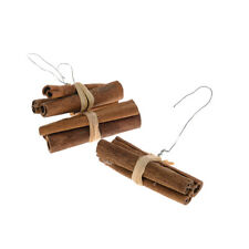 8cm/3 Inch Cinnamon Stick Bundle With Wire Pack of 10