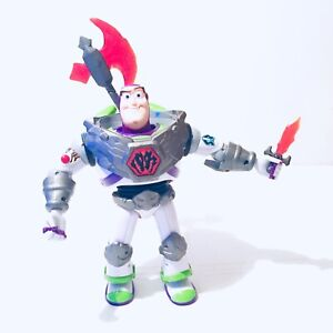 Toy Story That Time Forgot Battlesaurs Buzz Lightyear Figure Thinkway Toys Large