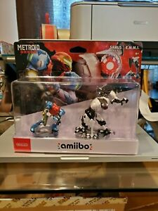 Metroid Dread amiibo Figures- Samus/ E.M.M.I. - In hand, ready to ship