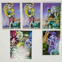 Mattel Monster High Doll Skull Shores Trading Card Lot Dawn of the Dance Card
