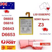 Battery Fr Sony Xperia Z3 Z 3 Li-Ion Battery D6603 D6616 D6643 D6653 LIS1558ERPC