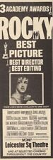 Rocky Film Ads & Flyers