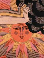 La propagande politique urss communisme soviétique sun cloud la paix mondiale poster BB2683B