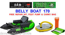 CLEARANCE DAM MAD CAT 170 BELLY BOAT FLOAT TUBE SEA COARSE CATFISH ROD FISHING