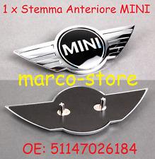 Stemma Fregio Cofano Anteriore MINI COOPER S D ONE R56 R57 R59 R60 R61 ORIGINALE