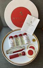 Bvlgari Eau Parfumee Au The Rouge 9 Pces Gift Set 10 ml EDC Spray New