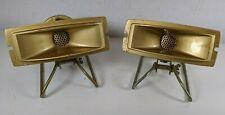 Pair Vtg Olson Hi-Frequency Horn Tweeter Speaker 20W S-307 Sound Reinforcement