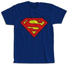 CAMISETA NIÑOS Y ADULTOS SUPERMAN MANGA CORTA T-SHIRT CHILDREN MAGLIETTA