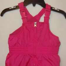 Snow Pants Bib Ski Overall Pink Size 3T Toddler Winter Faded Glory Girls