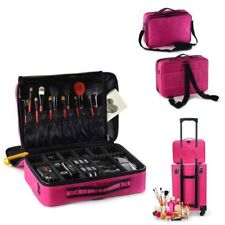 Suitcase Case Makeup Storage Cosmetic Bag Travel Pro Organizer Box Large