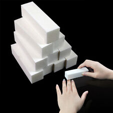4PCS White Nail Art Buffer File Block Pedicure Manicure Buffing Sanding Polish