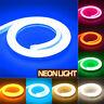 1/5M DC12V Soft LED Neon Tube Flexible Rope Sign Bar Strip Light Waterproof DIY