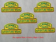 5pcs Camel Trophy Adventure Wear Patch Embroidered Iron or Sew on Shirt/hat