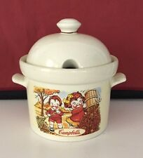 Vintage 1998 Kids Campbell's Soup Tureen Ceramic Houston Harvest With Lid