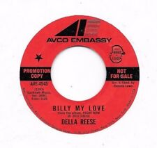 DELLA REESE * 45 * Billy My Love * 1971 * NM ! * DJ PROMO * AVCO EBASSY ORIGINAL