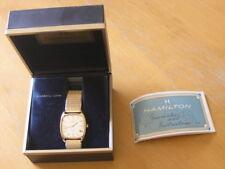 1977 Hamilton Mens Quartz Watch Gold Plated CRAFTSMAN MILLION DOLLAR CLUB