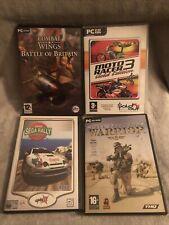 PC CD-ROM Game Bundle 4 Games. Full Spectrum Warrior, Moto Racer 3 ... More Desc