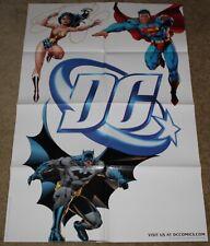 SDCC DC COMICS WONDER WOMAN~BATMAN~SUPERMAN POSTER BY LEE~WILLIAMS~SINCLAIR