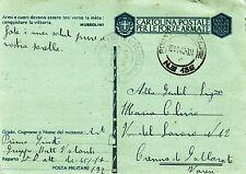 G477-II WW.,P.M 132 SU C.P, TUNISIA PER CRENNA DI GALLARATE,INTEND.TUNISIA,1943