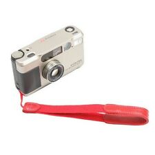 New Arnuvo Red Cloth with Leather Camera Wrist Strap (no. 610606)