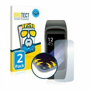 Samsung Gear Fit 2 ,  2 x BROTECT® Matte Flex 3D Screen Protector, Anti-Glare