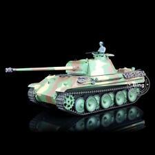 2.4G Henglong 1/16 Camo 6.0 Plastic Model 3879 German Panther G RTR RC Tank