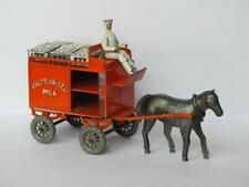 LESNEY PRE MOKO VINTAGE 1948 DIECAST HORSE DRAWN MILK FLOAT RARE SET