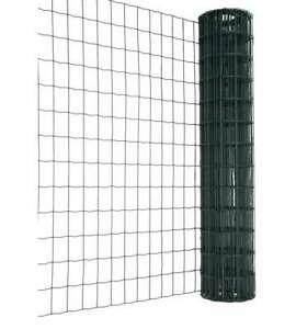 RETE METALLICA ONDULATA CON RIVESTIMENTO PLASTIFICATO IN PVC - 100 CM x 25 METRI