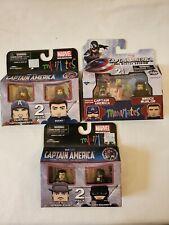Marvel Captain America Minimates Lot