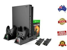 Xbox One Vertical Charger Stand with Cooling Fan - Free & Fast Delivery