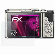 atFoliX Glass Protector voor Nikon Coolpix A900 9H Beschermend pantser