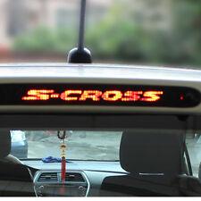 Additional Brake Light Sticker Carbon Fiber Stop Lamp Cover for Suzuki S-Cross